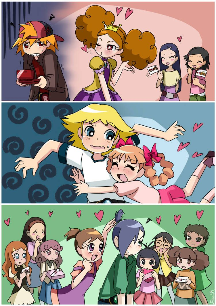 Love Problems By Alinesm On Deviantart Powerpuff Girls Anime