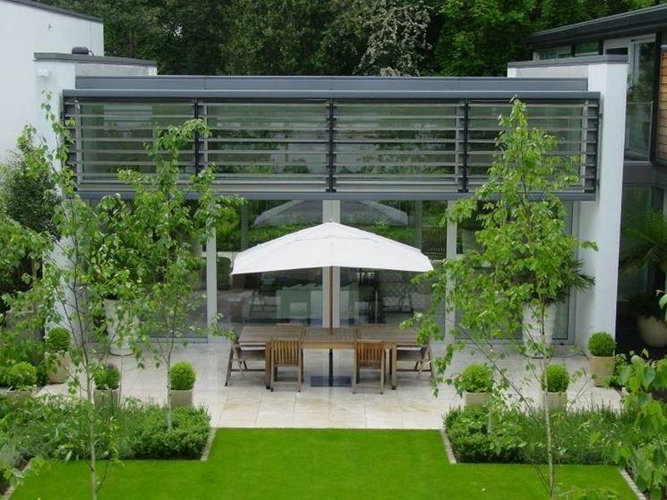 Gazebo in ferro di design moderni cerca con google - Arredare giardini piccoli ...