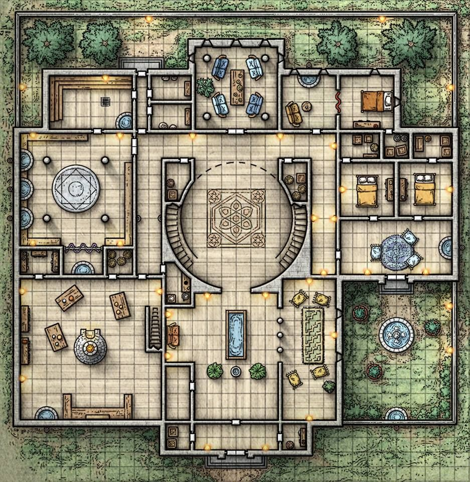 Dnd House Map Architecture Modern Idea