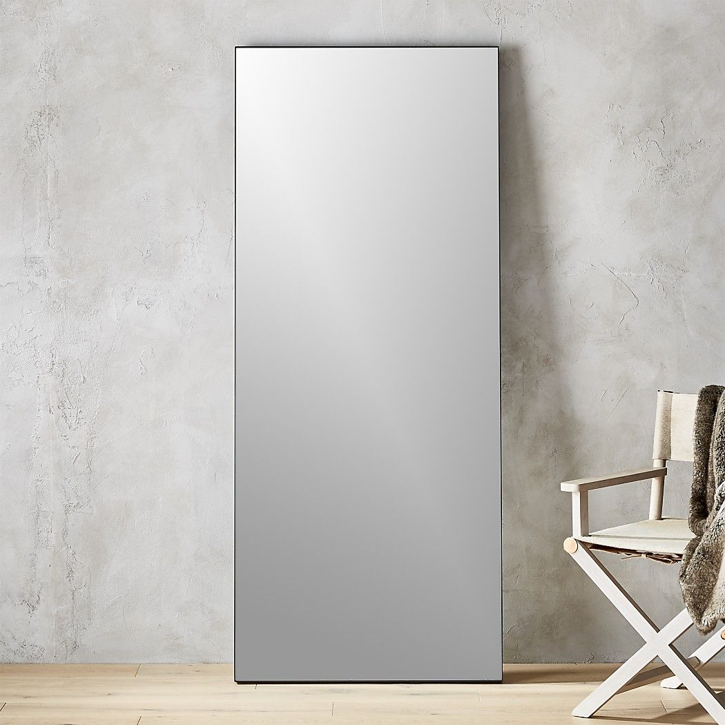 """Infinity Black Floor Mirror 32""""x76"""" + Reviews (With images"""