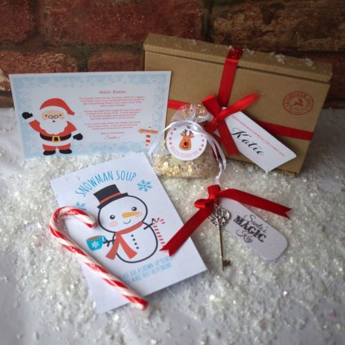 Personalised santa christmas eve box a6 letter magic key cocoa personalised santa christmas eve box a6 letter magic spiritdancerdesigns Image collections