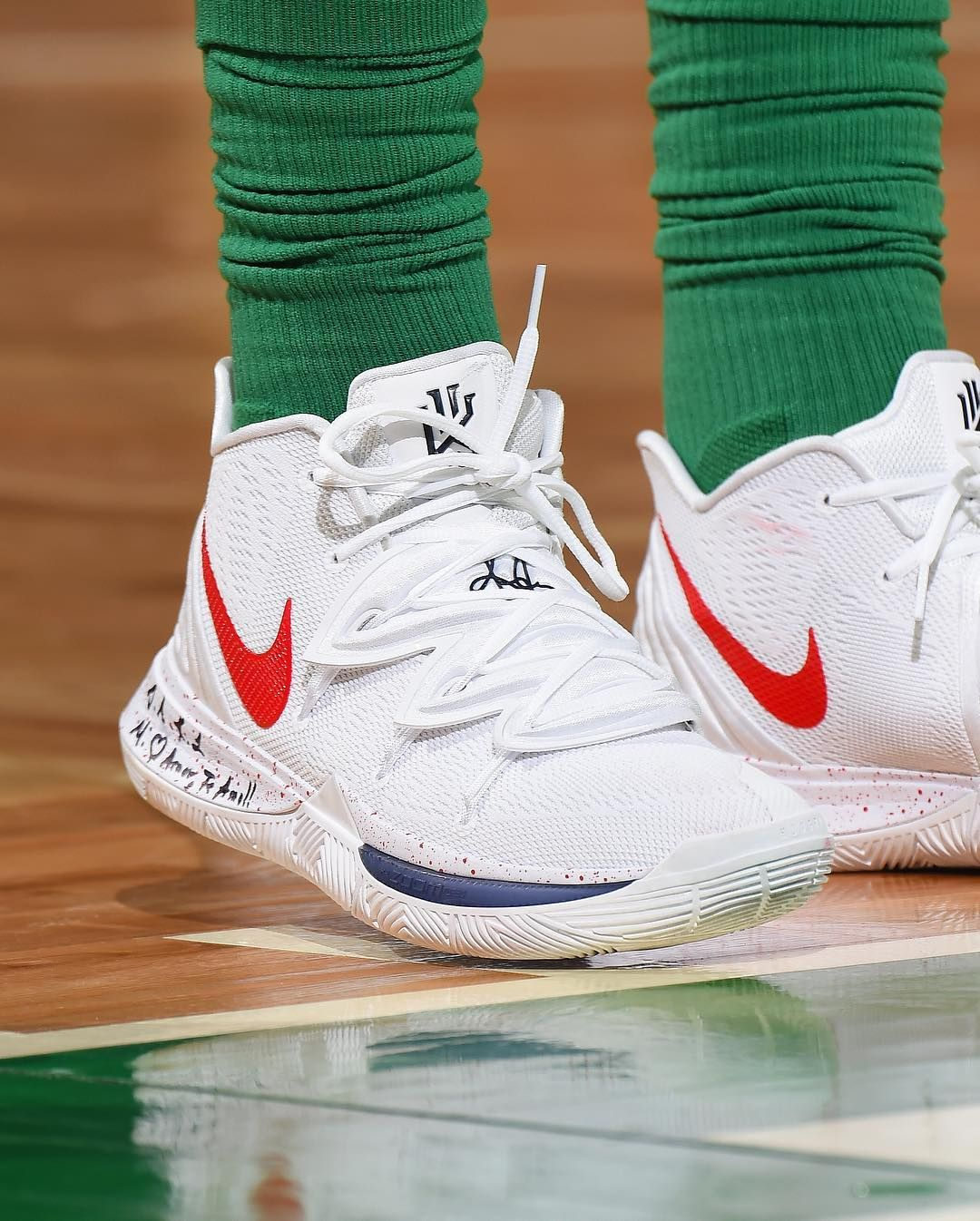 a1ce01819ec2 ... Kyrie Irving by Elizabeth Dibben. Image may contain  shoes