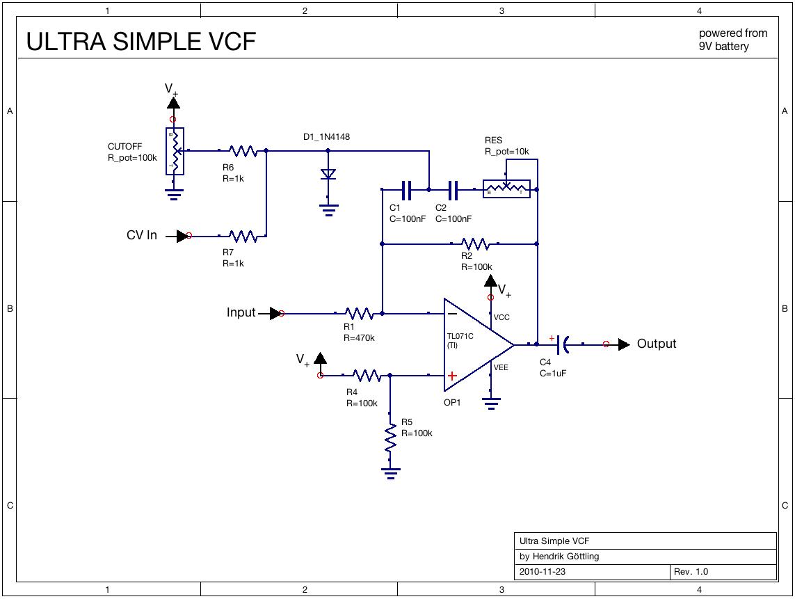 simple vcf   eurorack modular in 2019   Electronic music