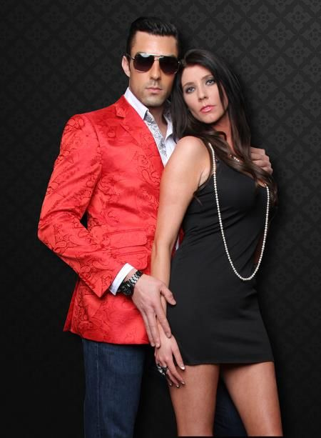 Images of Mens Red Sport Coat Blazer - Reikian