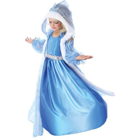 Icelyn Winter Princess Child Halloween Costume, Girl's, Multicolor