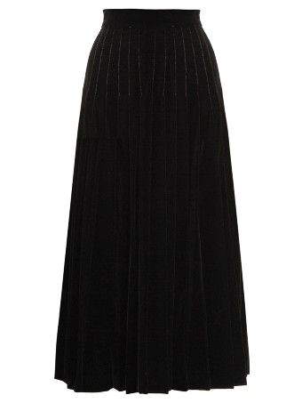 ba7c8ec1888 Pleated velvet midi skirt | Winter style wish list | Velvet midi ...