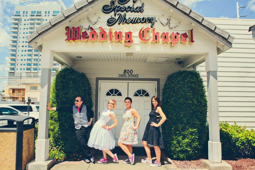 Las vegas drive thru wedding mike manda with images
