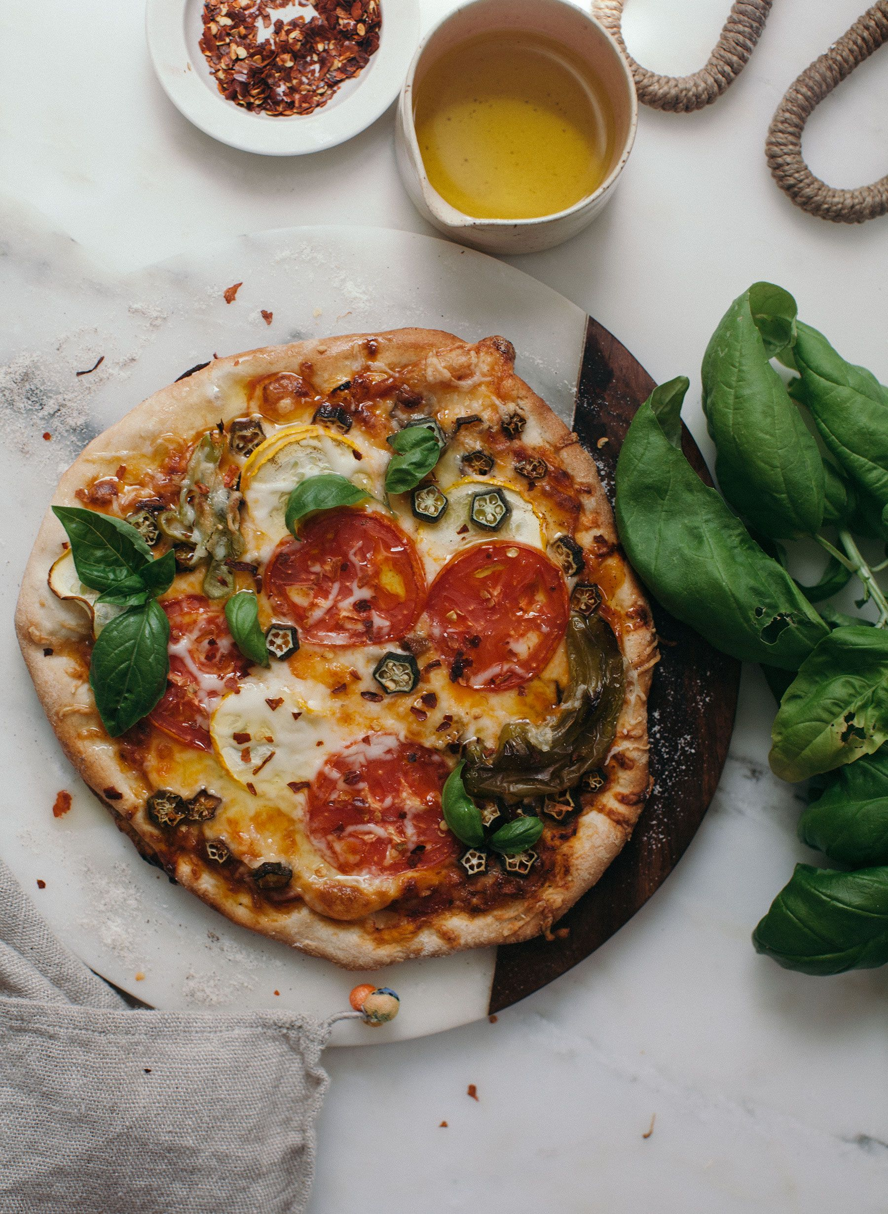 Vegetable Lover Z Pizza Recipe Food Recipes Food Good Pizza
