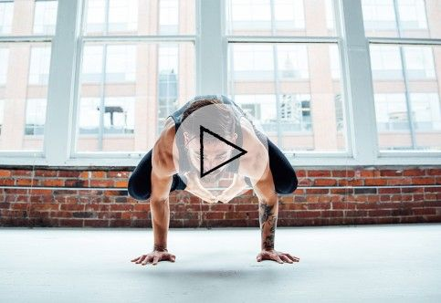 home workouts  crow pose kettlebell training types of yoga