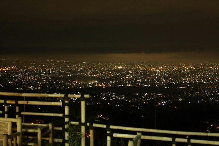 Caringin Tilu Bandung City Light Bandung City Airplane View City Lights