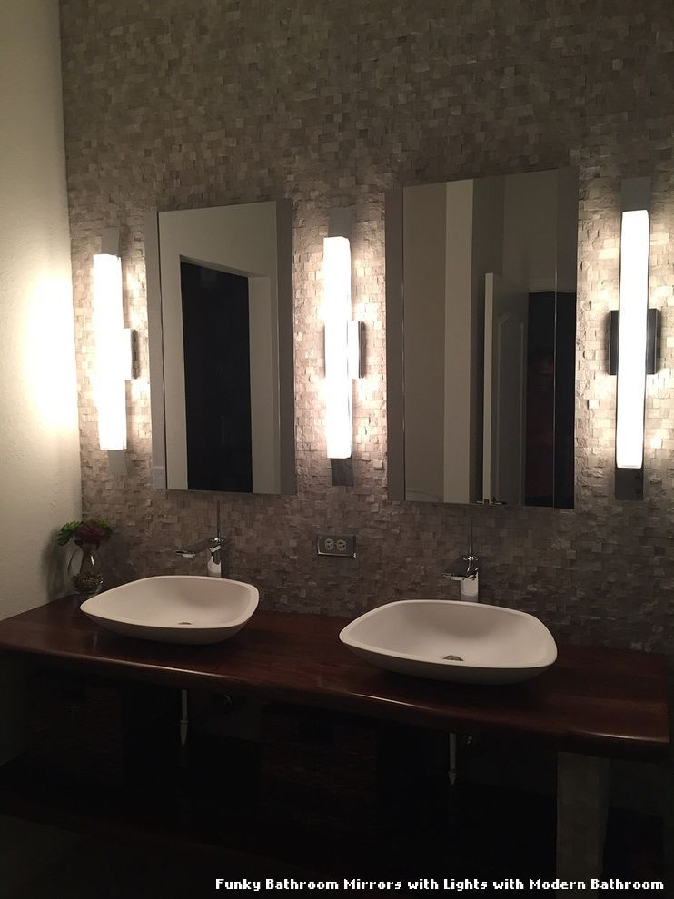 Funky bathroom mirrors with lights tablecloth pinterest funky bathroom mirrors with lights mozeypictures Gallery