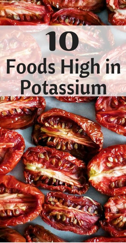 Foods High in Potassium detoxdrinks in 2020 High