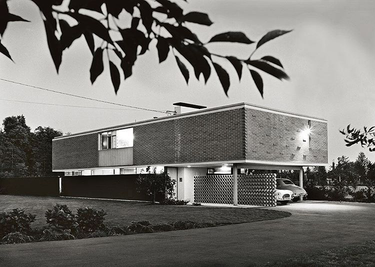 House | Kenneth Gardner | Vancouver | 1961. | mid century houses ...