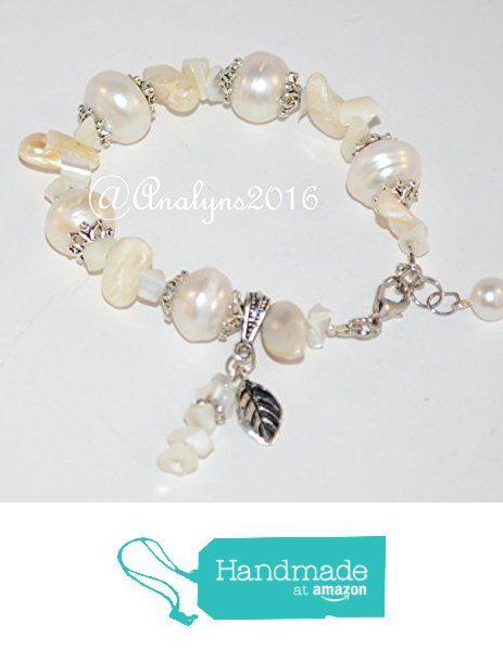Adjustable June Birthstone Pearl Bracelet I1hrI