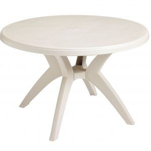 Round Resin Patio Tables