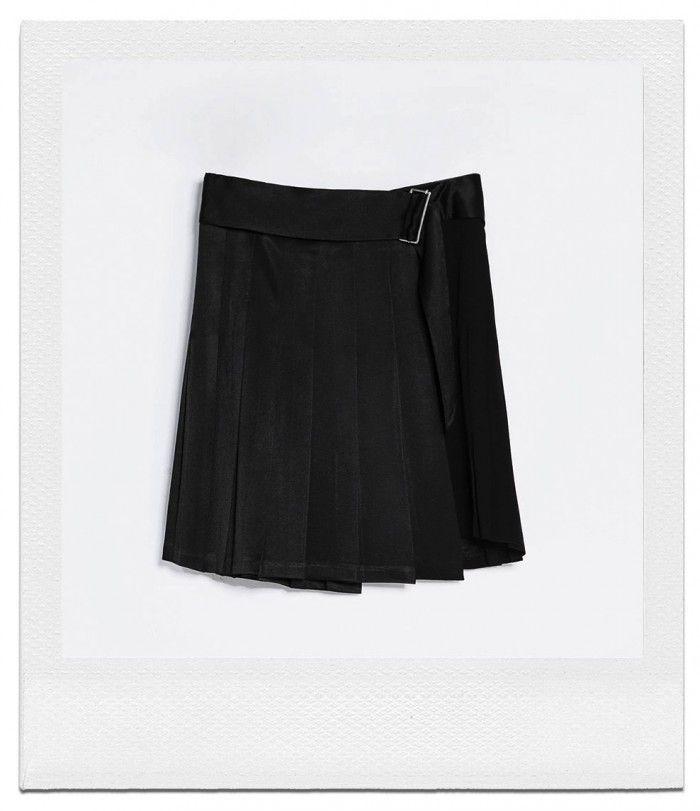 The Catch Pleated Silk Satin Skirt From Zara See More On The Wall Of Www Elin Kling Com Fashion Walk Zara Fashion Fashion