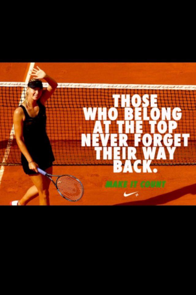Tennis Maria Sharapova Tennis Quotes Tennis Wallpaper Tennis Tips