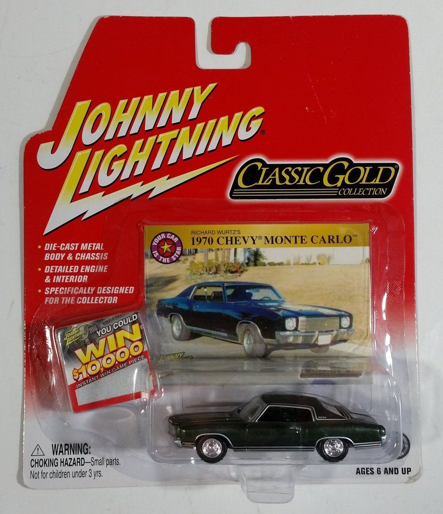 2004 Johnny Lightning Classic Gold Collection 1970 Chevy Monte