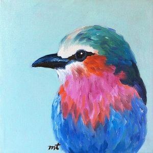 Allie by Micki Thomas Oil ~ 8 x 8