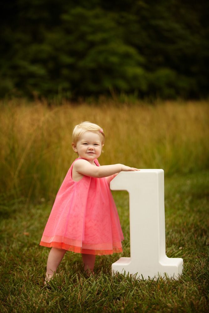 audrey + one year session + dayton portrait photographer