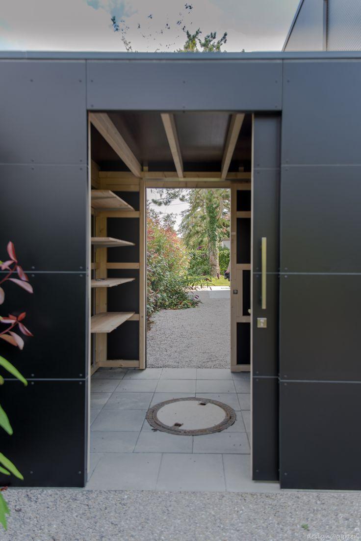 """Designer Gartenhaus """"black box"""" _gart in München by"""