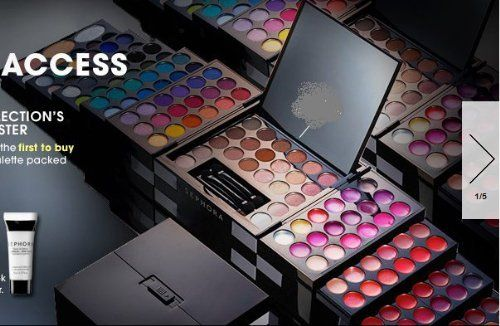 Sephora Studio Blockbuster Palette Makeup Kit by Sephora. $102.88. Gift Box Available. Portable case with 193 makeup products.. Large mirror and applicators ...