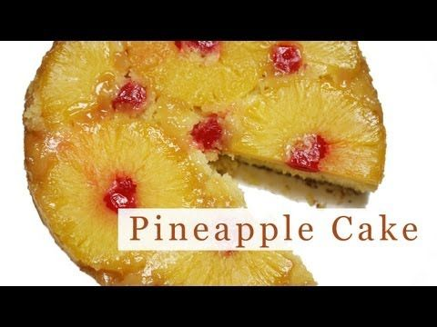▶ Pineapple Upside-Down Cake Recipe - YouTube