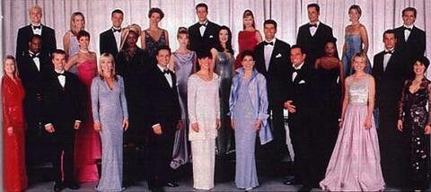 AW last cast photo | Soap opera, Favorite tv shows, Tv soap