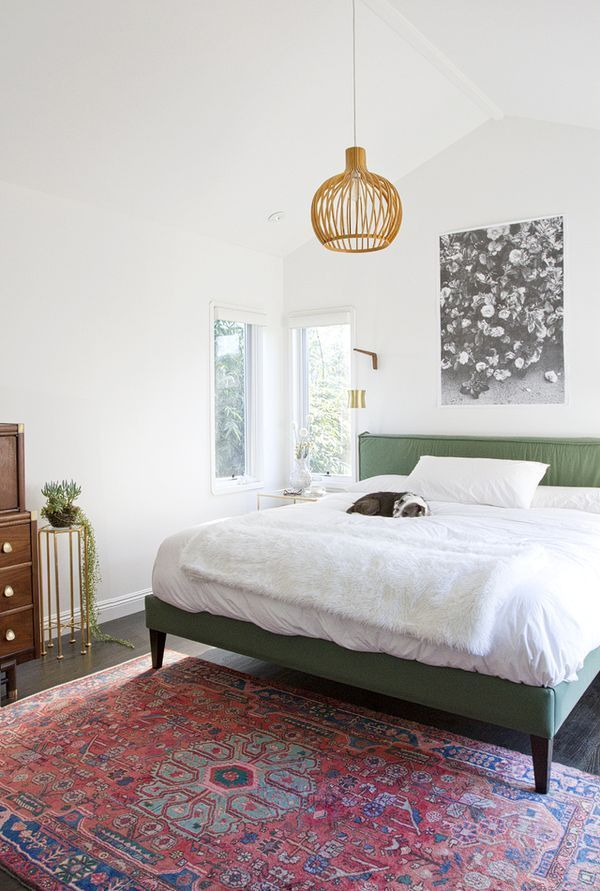 Love That Green Bed Frame Home Bedroom Bedroom Inspirations Home