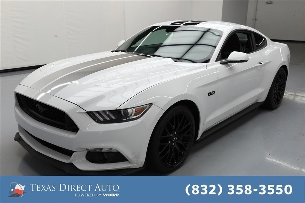 Ford Mustang Gt Premium 2dr Fastback Texas Direct Auto 2016 Gt
