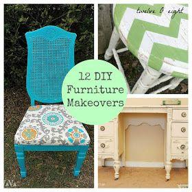 twelveOeight: 12 Do It Yourself Furniture Makeovers