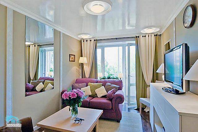 интерьер 1 комнатной квартиры хрущевки фото | Фото ...