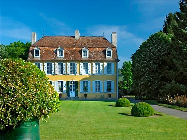 1700′s chateau that was built by an abbot who was knighted by Louis XIV. This beautiful place is located in the town of Pau, in south of France.