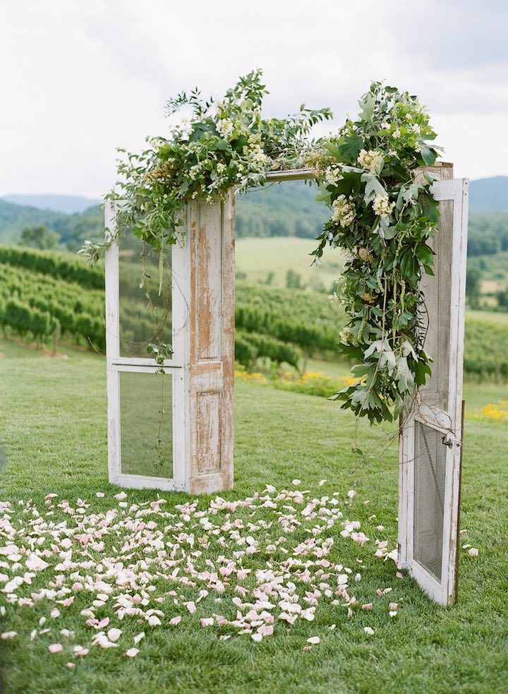 Rustically Elegant Virginia Wedding