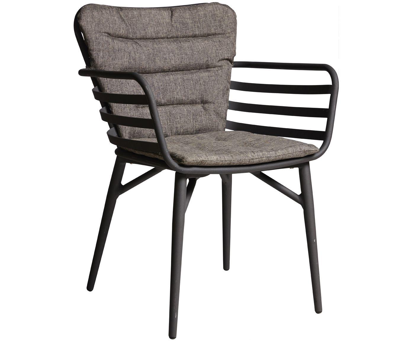 Gartenstuhl Wifi Aus Metall In Grau Westwingnow Gartenstuhle Stuhle Terrassen Stuhle
