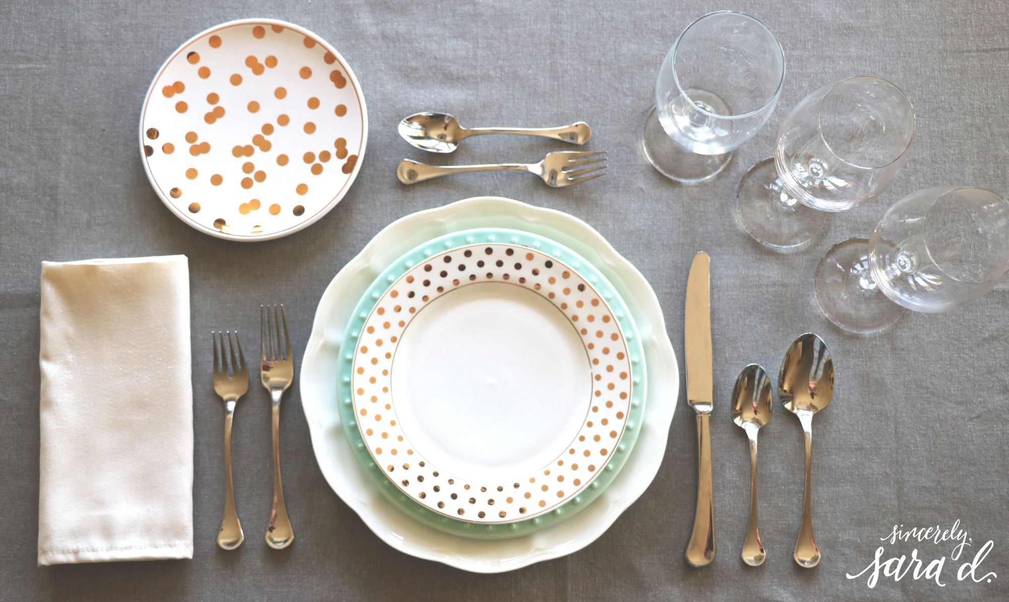 How to set a table | Table setting etiquette, Table settings and ...