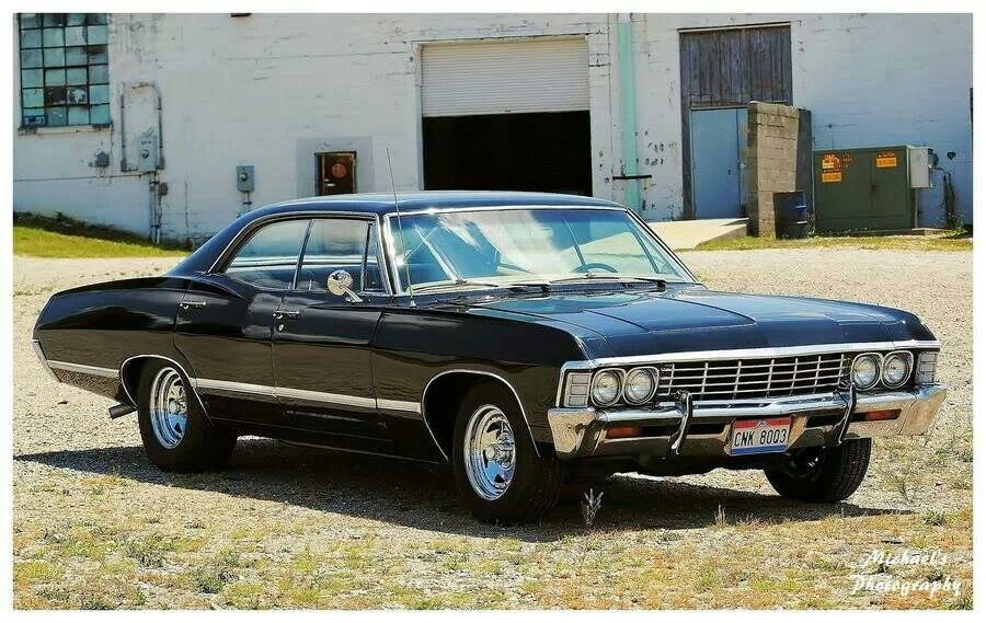 Strange 1967 Chevy Impala Looks Just Like The Winchesters Car On Beatyapartments Chair Design Images Beatyapartmentscom