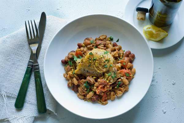 Gluten Free Braised Chicken and Beans | Recipe | Chicken ...