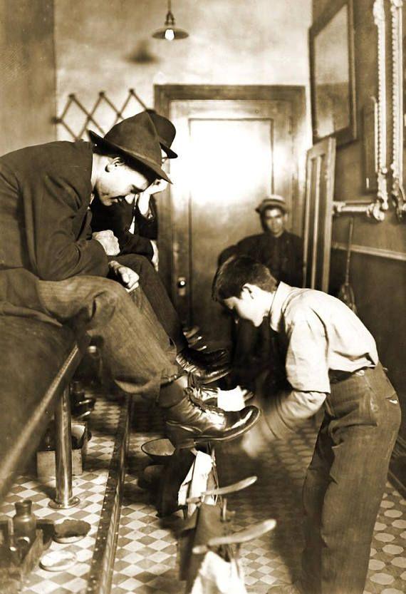 1908 Greel S Shoe Shine Indianapolis In Vintage Etsy Lewis
