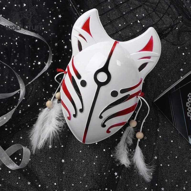 Photo of Anime Wolf Mask – Black