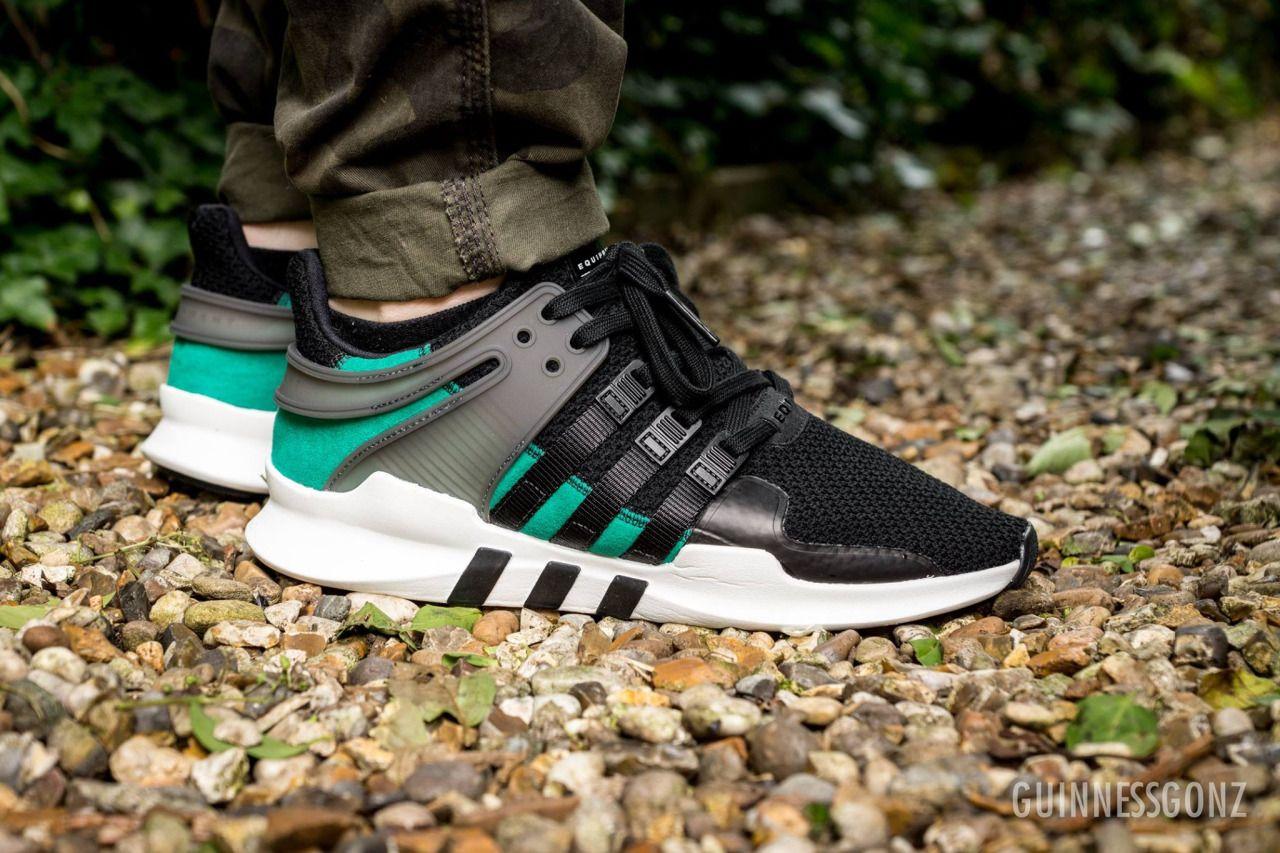 Adidas Equipment Support ADV Core BlackSub Green (by
