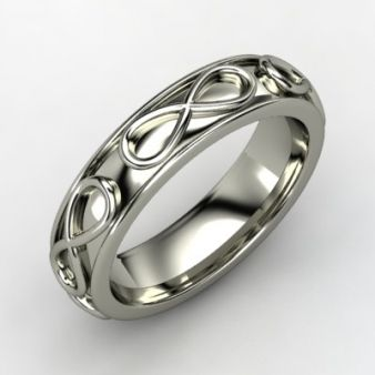 symbol rings engagement titanium ti ring bands wedding band infinity