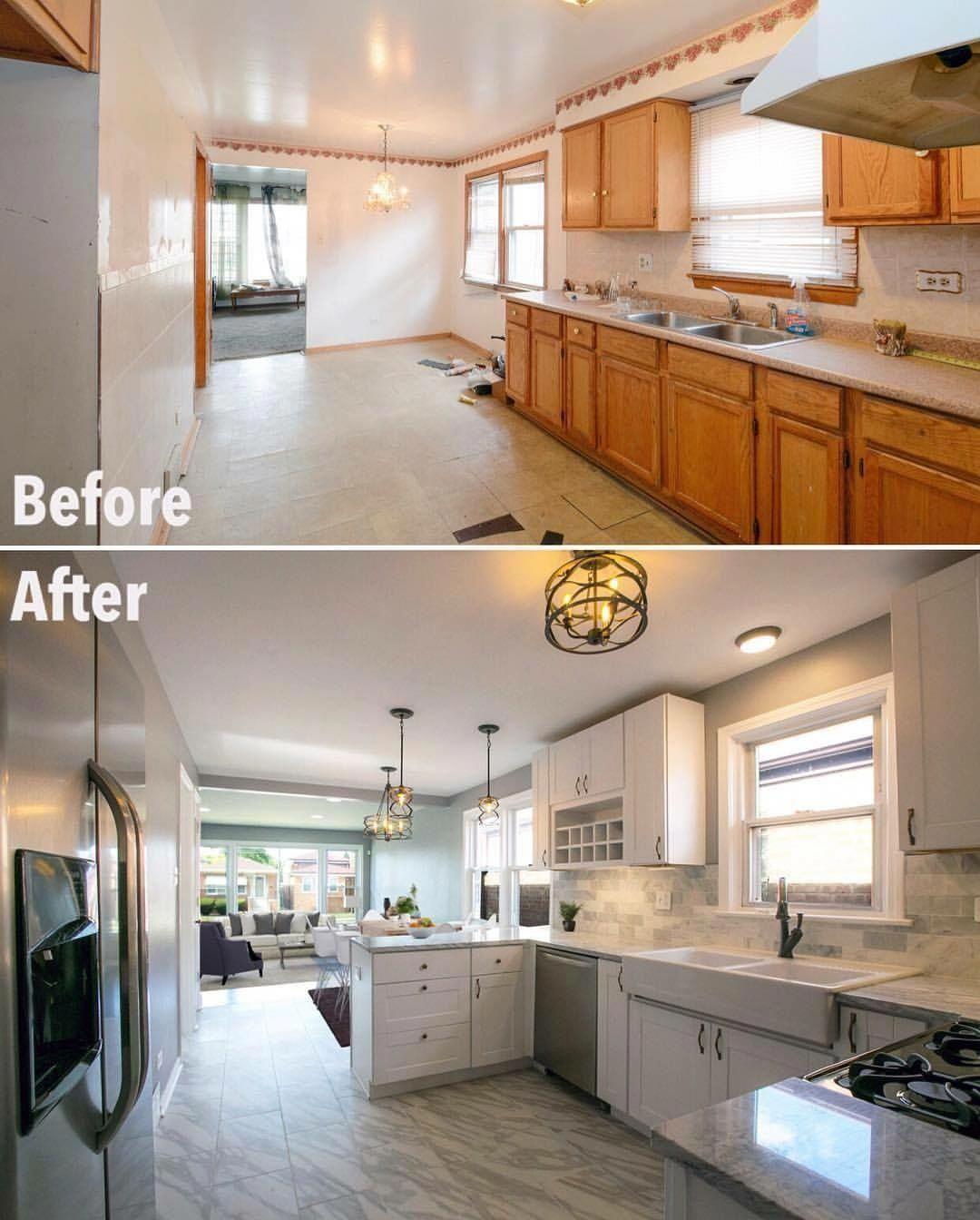 Best New Kitchen Makeover Ideas Diykitchenmakeover 640 x 480