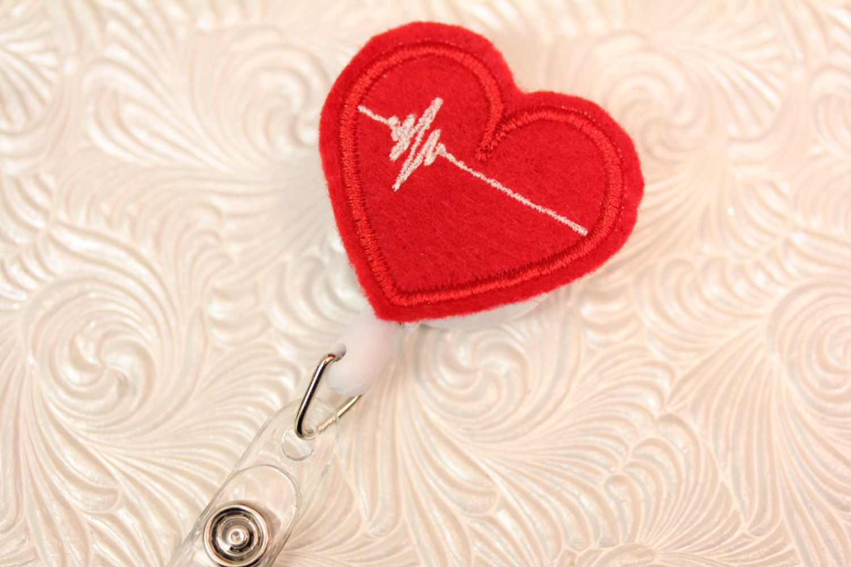 professional nursing badge holder - retractable badge ...