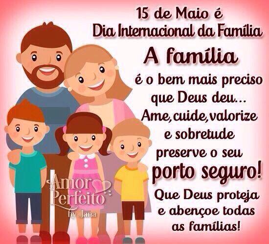 Family De Regina Fernandes Dia Internacional Da Familia