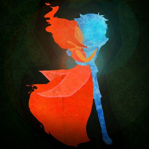 Flame princess x Finn #AdventureTime