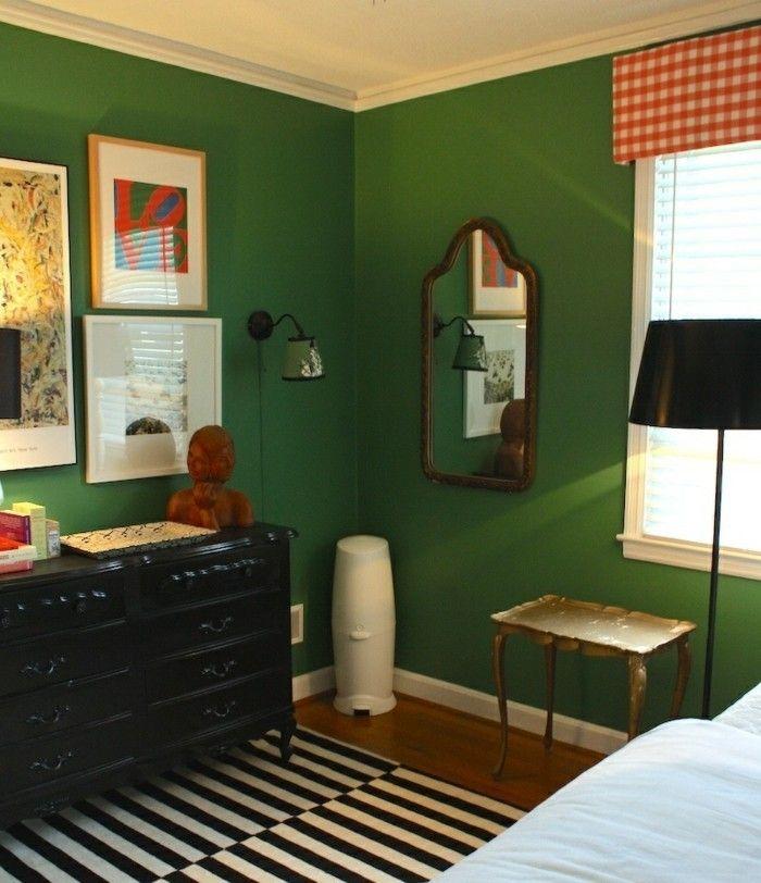 Wandfarbe Grün wandfarbe grün und ihre einsatzwerte designerinterpretationen
