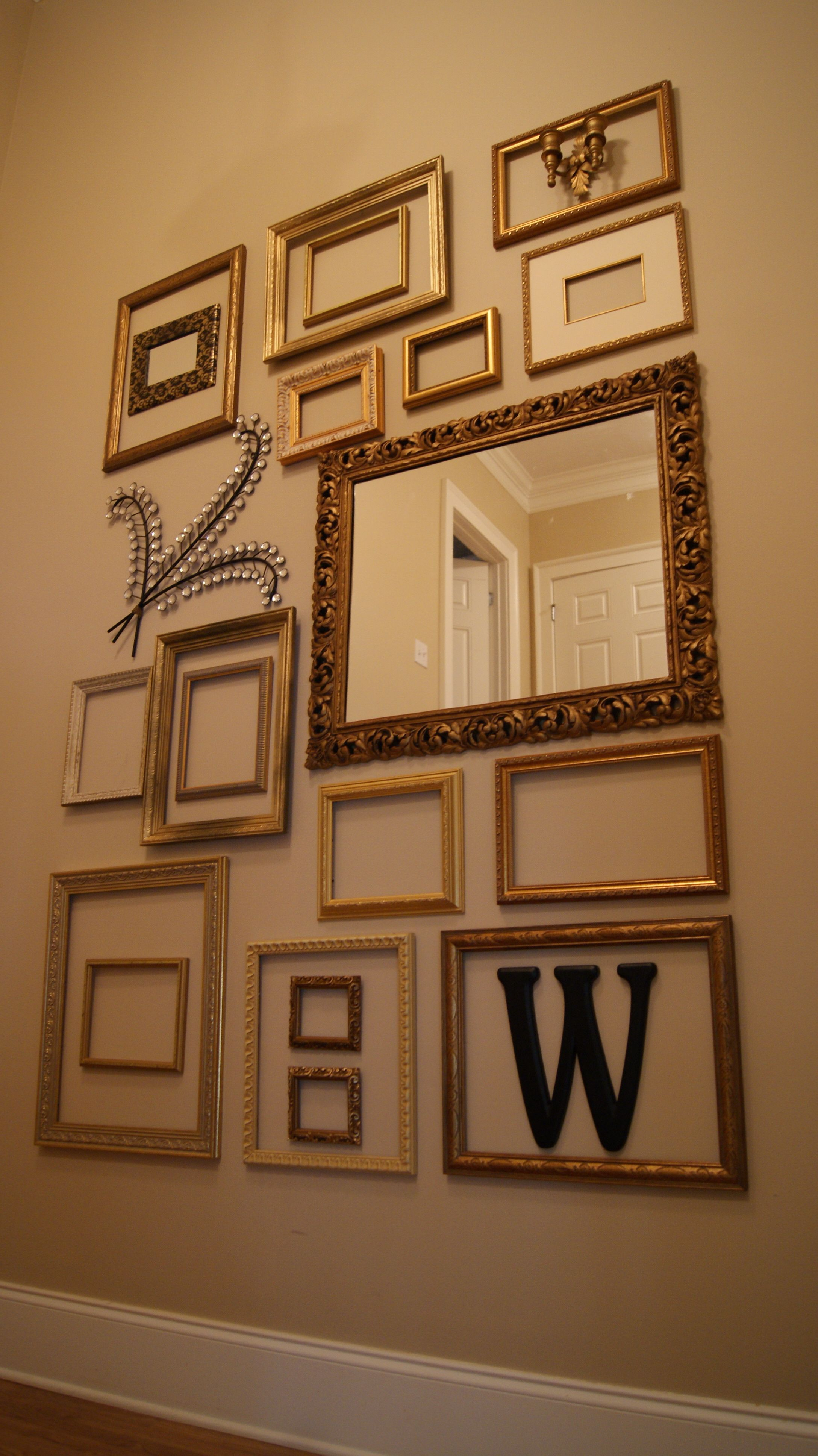 picture frame collage wall complete frames on wall on wall frames id=47238