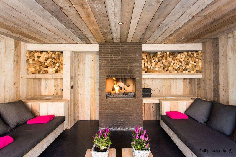 Poolhouse steigerhout google search pool pinterest verandas