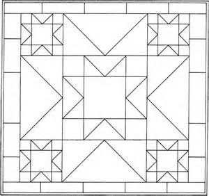 Printable Quilt Block Patterns